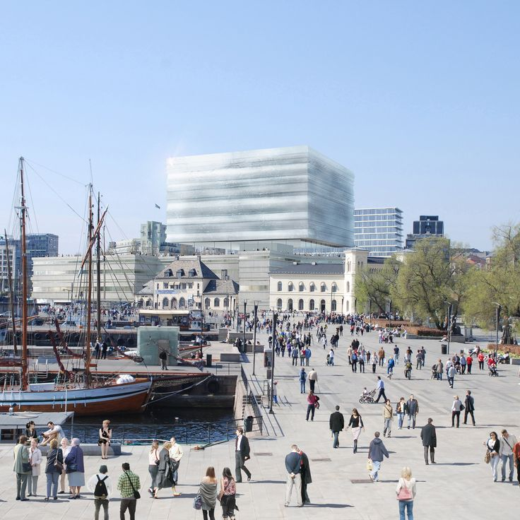 Oslo National Museum Exterior