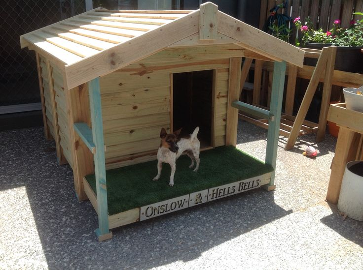 A recent Kennel - see more at www@buildmykennel.com
