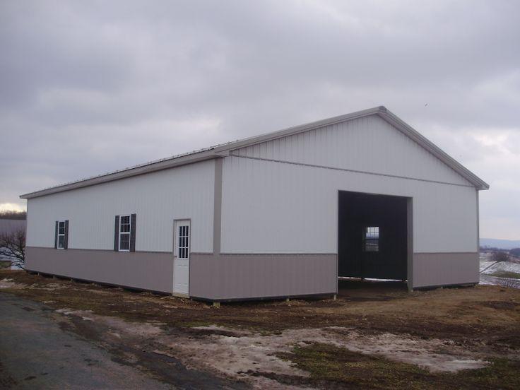 Building dimensions 40 w x 60 l x 12 4 h id 307 for Pole barn dimensions