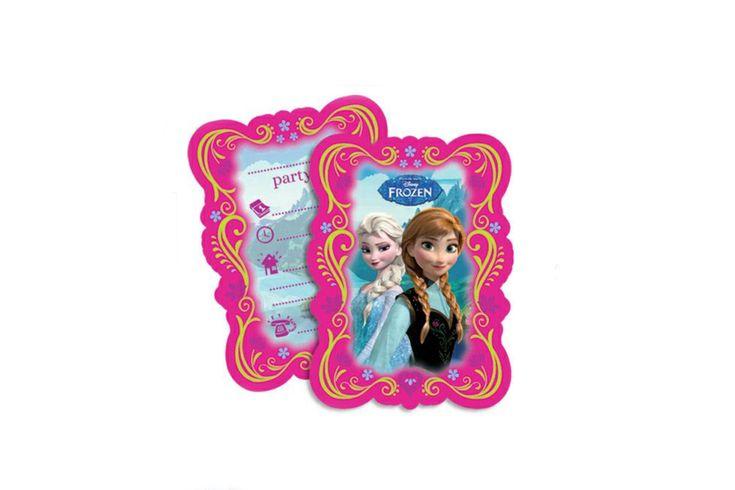 Είδη πάρτι : Προσκλήσεις γενεθλίων Frozen