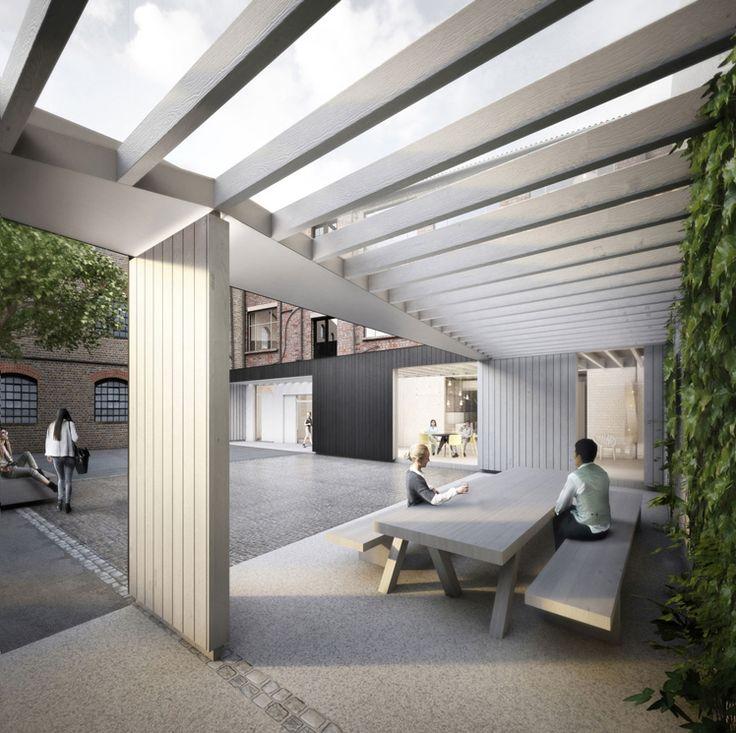 Forbes Massie / 3D Visualisation Studio / London - Work - Delvendahl Martin / Bow Arts Trust
