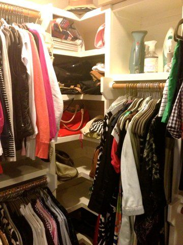 C. Style Closet Corners with shelves - no dead space