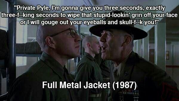 Full metal jacket pyle quotes