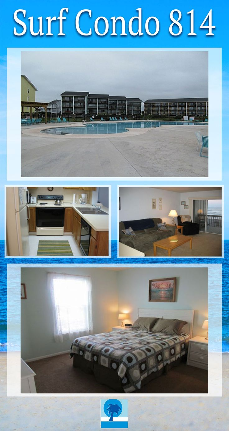 Come to Topsail Island for a dream beach vacation! Surf Condo 814 is perfect for the small family who is ready for an oceanfront oasis!! Sleeps 6. Book today.