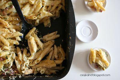 csajka-land: Medvehagymás mustáros tészta