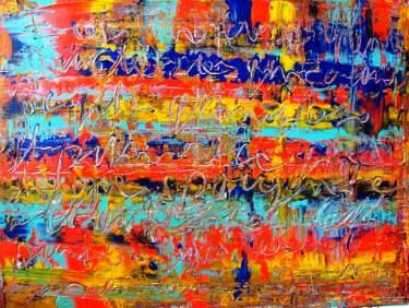 """Saatchi Art Artist Paolo Cervino; Painting, """"About poetry n. 73- a poetry in the color for you"""" #art"""