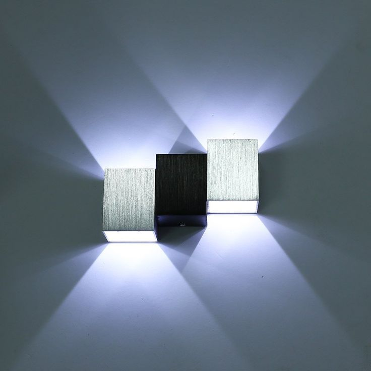 Bon Amazon.com: Amzdeal ® 6W Aluminum Pure White Wall Snonce Led Bedroom  Hallway Wall