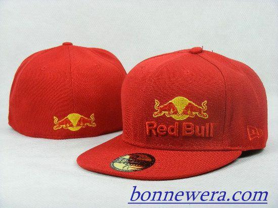 Acheter Pas Cher Casquettes Red Bull Fitted 0047 En ligne - BONNEWERA.COM