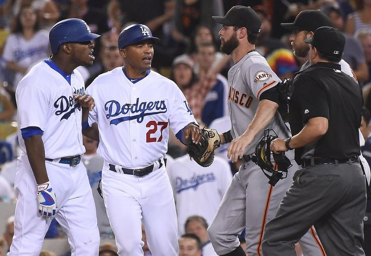 How far will Dodgers starters go in big series against Giants?