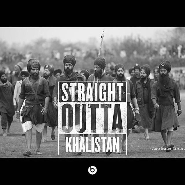#TBT or #FBF ... Whatever part of Planet Earth you are... REMIX! #straightoutta with image from @22gstudios  #khalistan #sikh #punjab @sikhexpo