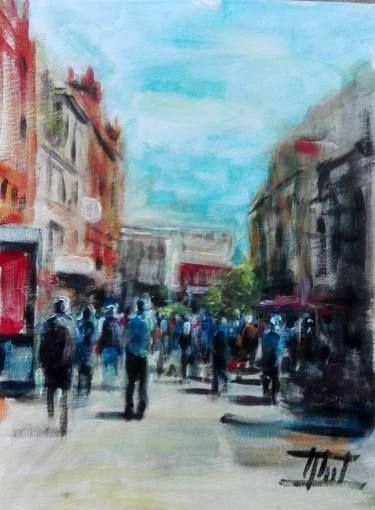 Liverpool - People on Church Street