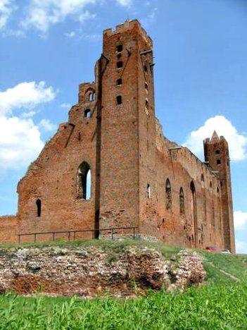Teutonic Knights Castle in Radzyń Chełmiński
