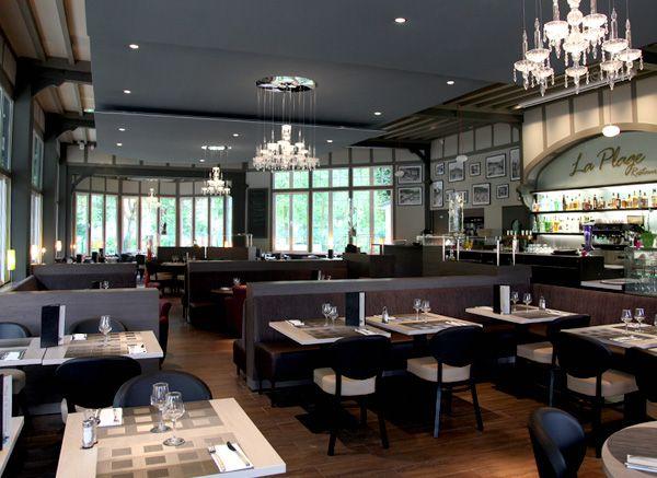 Restaurant de la Plage, L'Isle-Adam, Val d'Oise