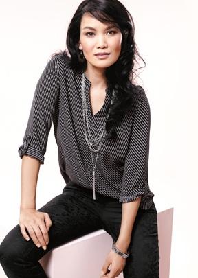 #reitmans #necklace #collier #necklacehowto #commentportercollier #howtowearnecklace #petite