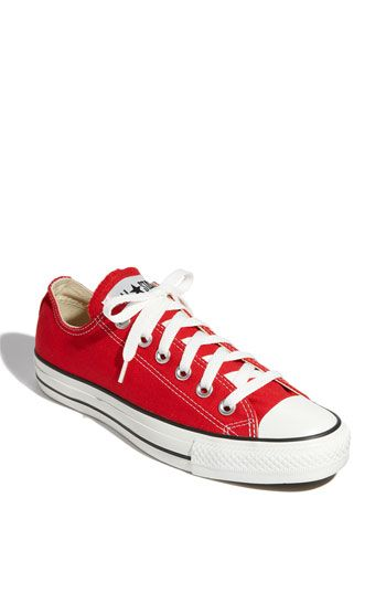 Red Chuck Taylors... I have a feeling this is going to be your smartest idea of the day! :)