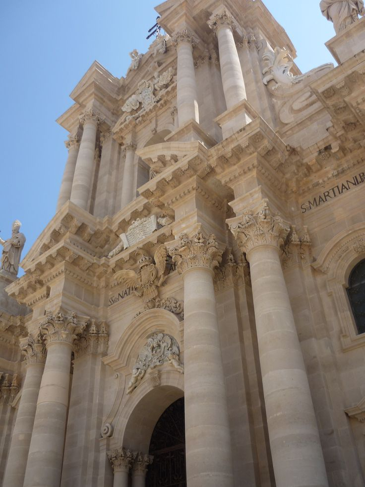 Our Sicily - August 2013 - Cattedrale di Siracusa
