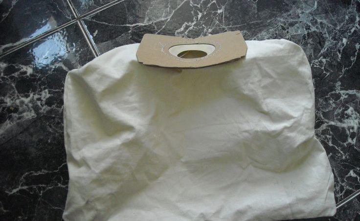 Como fazer saco de pano para aspirador de pó. Além de economizar, ainda contribuimos com o meio ambiente. Super dica!!!!