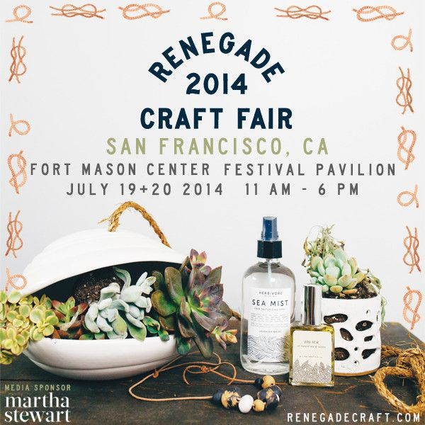 Summer Show Schedule  - find us at Renegade in SF this weekend !! @renegadecraft