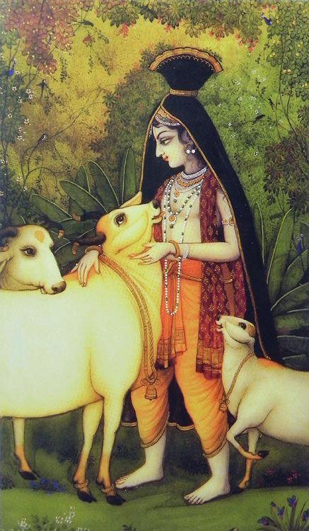 Cowherd Krishna (Reprint on Paper - Unframed)