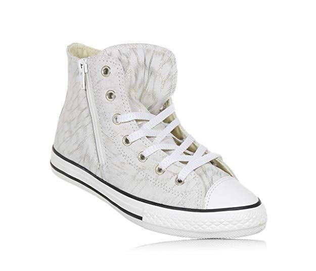 d0af3d67938f98 CONVERSE 659019C CT AS HI SIDE ZIP SNEAKERS Girls STONE 28