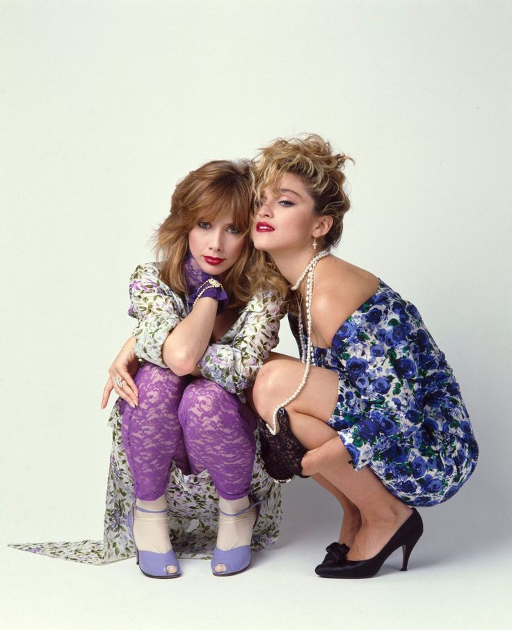 Rosanna Arquette & Madonna publicity photo for Desperately Seeking Susan (1985)