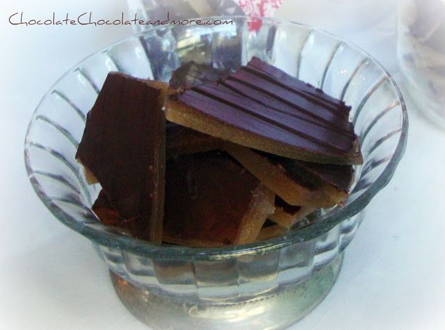 I love to make candy,and it's really easy, once you understand it. The most important part of making most candy is the thermometer and knowing how to use it. You may remember my post aboutmaking Butterfingers So important to make sure that thermometer is NOT touching the bottom of your pan! And that the liquid …
