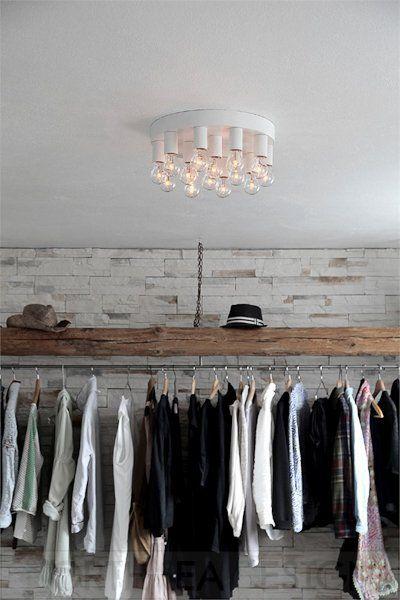 De stijlvolle Facett met een warme uitstraling, een prachtige plafondlamp van By Rydens bij North Sea Design