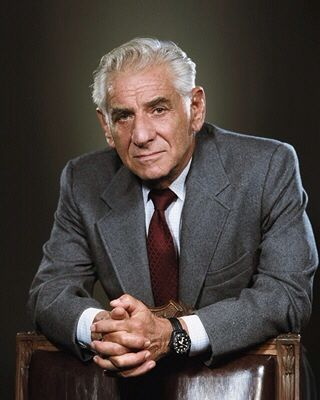 Image result for leonard bernstein 1990