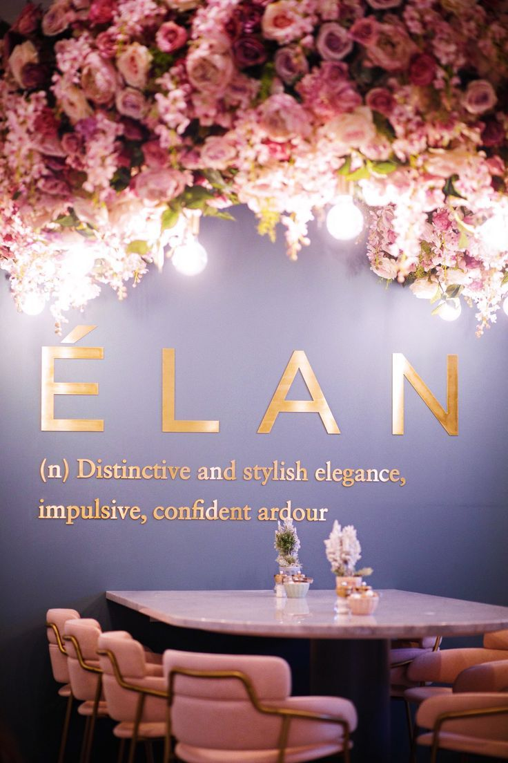 is interior design for me nail salon for me nail salon pinterest Elan cafe London | bring me back to europe in 2019 | Pinterest | Beauty salon  interior, Flower cafe and Salon design