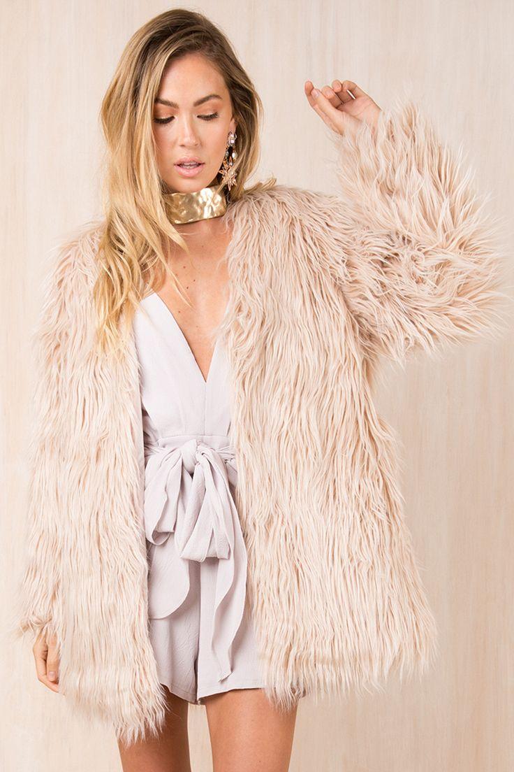 Sundae Muse - Blaire Faux Fur Coat