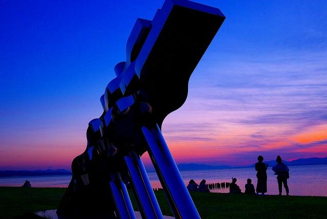 湖畔の人々    島根県立美術館