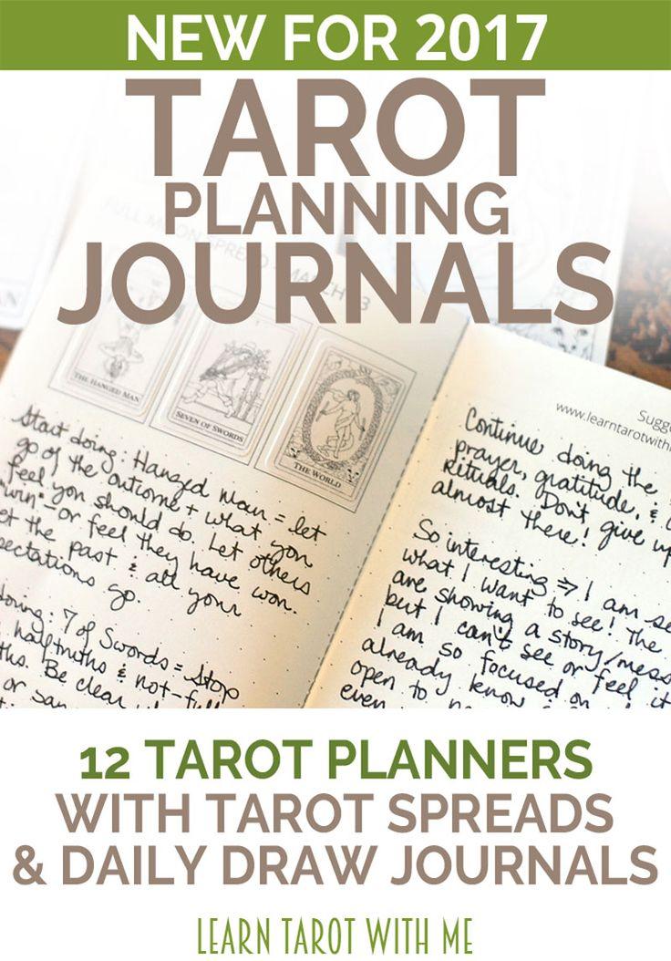 Weekly Tarot Reading I Healingtarotnet: Daily Planners Pinterest'te