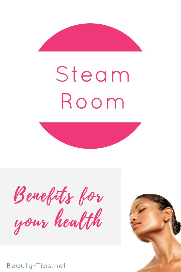 Some great benefits of using steam room, going tomorrow ;).