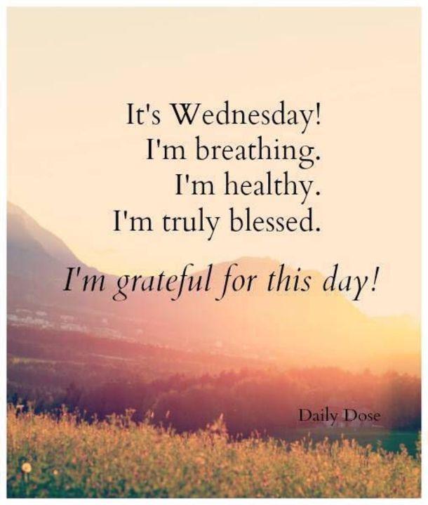 25 Inspiring Happy Wednesday Quotes To