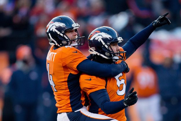 Broncos kicker Matt Prater now sits atop the record book after he launched a 64-yard field goal today in Denver, besting the record set by Jason Elam, Tom Dempsey, David Akers, and Sebastian Janikowski by 1 yard. | Watch The Longest Field Goal In NFL History