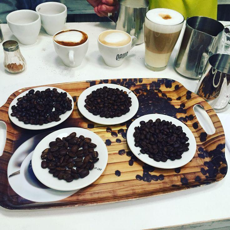 Készülnek a jobbnál jobb kávék ☕️