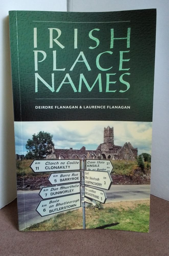 Irish Place Names Deirdre FLANAGAN  Laurence Paperback Genealogy Family Research