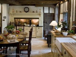 AGA in the English cottage kitchen