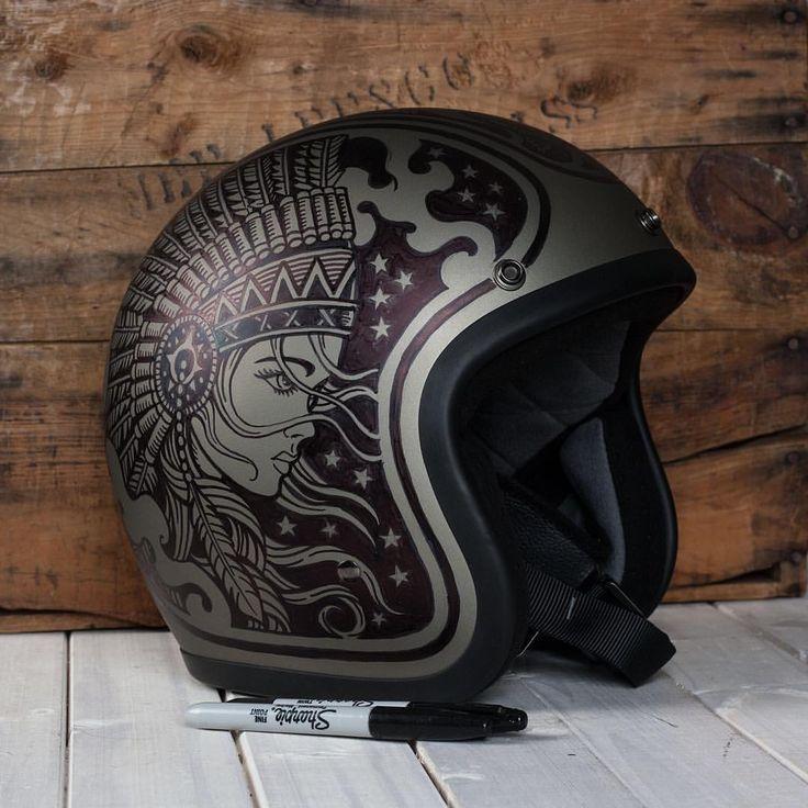 Nice custom helmet!                                                                                                                                                                                 More