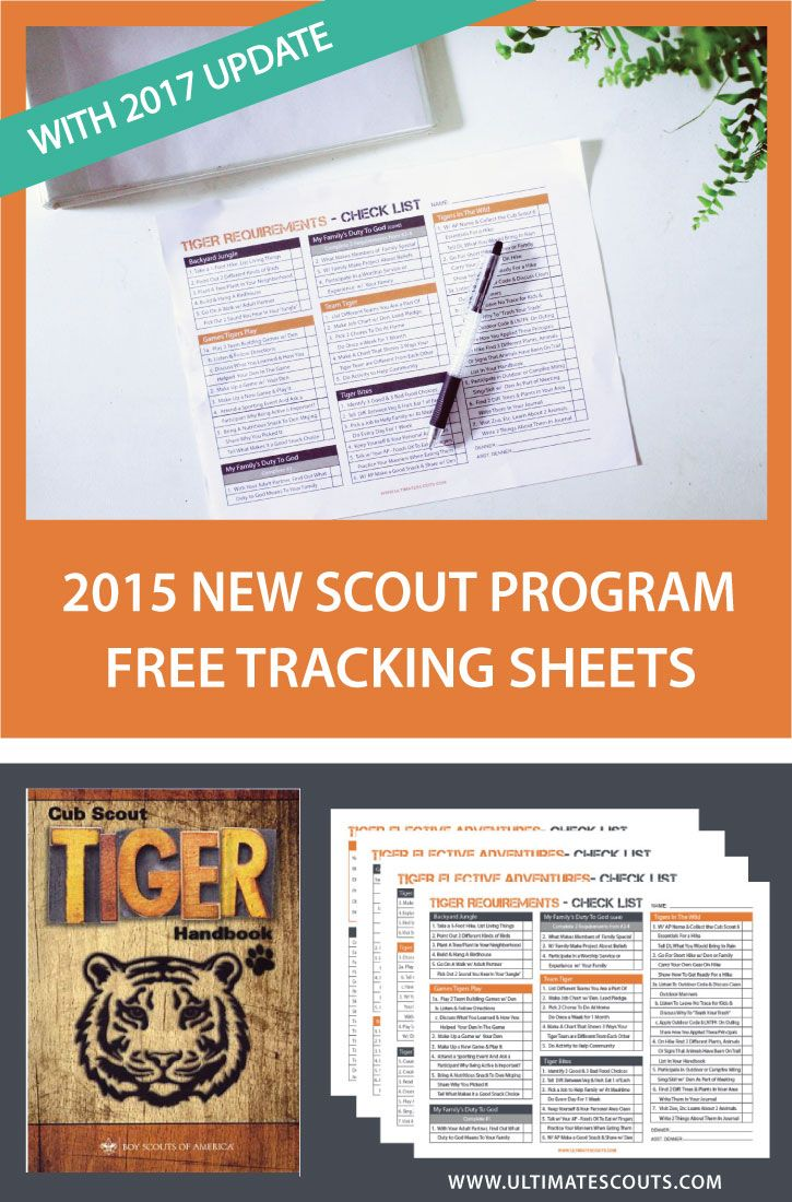 The New Cub Scout Program is finally here! So much thought and hard work has been put into a new and exciting experience for the scouts. We have put together a great looking Tracking Sheet that w…