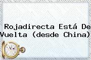 http://tecnoautos.com/wp-content/uploads/imagenes/tendencias/thumbs/rojadirecta-esta-de-vuelta-desde-china.jpg Roja Directa. Rojadirecta está de vuelta (desde China), Enlaces, Imágenes, Videos y Tweets - http://tecnoautos.com/actualidad/roja-directa-rojadirecta-esta-de-vuelta-desde-china/