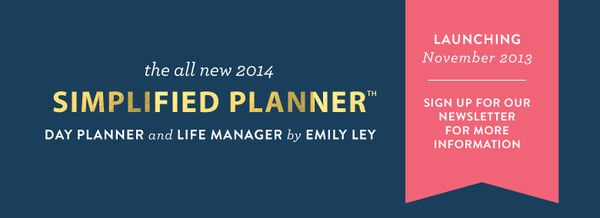 Simplified Planner | Emily Ley