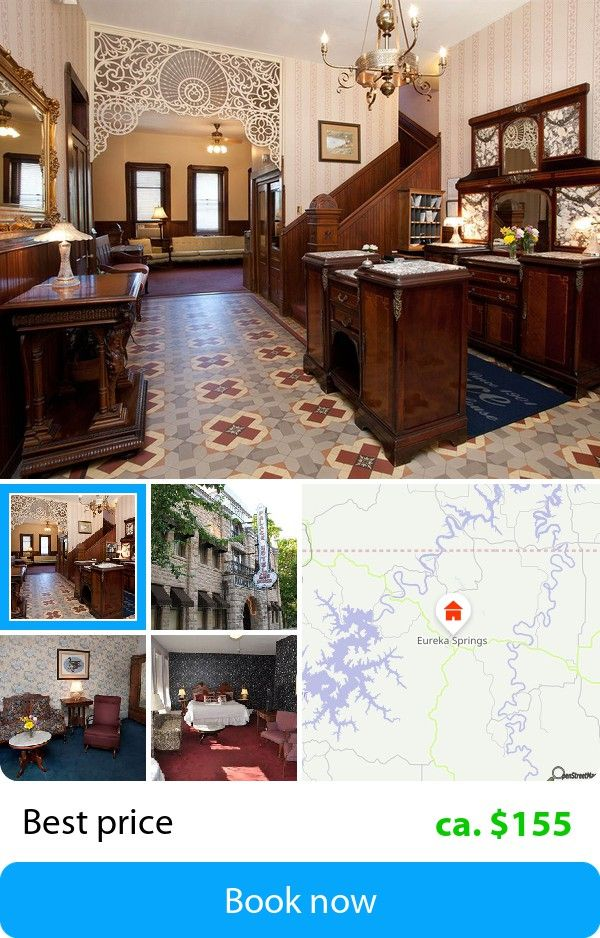 Palace Hotel & Bath House (Eureka Springs, USA) – Book this hotel at the cheapest price on sefibo.