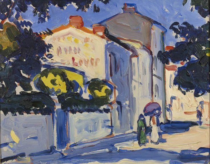 Samuel Peploe, Street in Royan