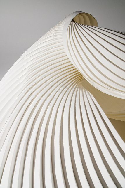 Folded paper, Richard Sweeney.