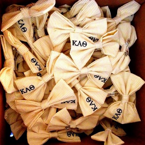 bowtastic bid day! <>~~~~. We totally need to get these for the babies!