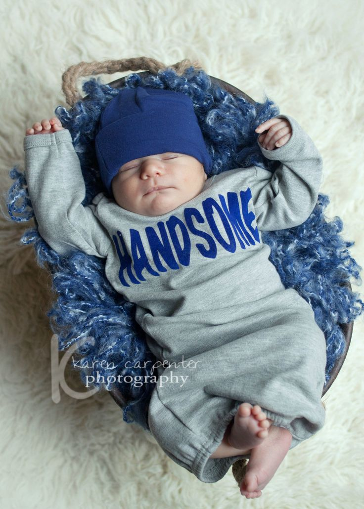 Boys Coming Home Outfit Grey and Navy Handsome