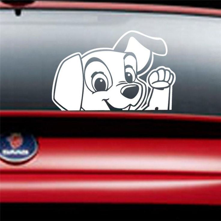 Cartoon Dog 14x10cm Car Sticker   Free Worldwide Shipping!  Only $2.89    Order from: www.happycozyhome.com