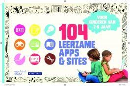 104 Leerzame apps & sites voor kinderen van 2 - 8 jaar.