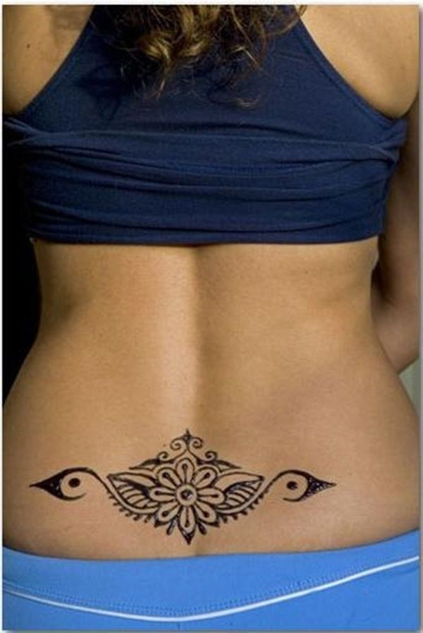 Best Pictures of Tattoos on Lower Back for Girls
